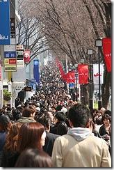 Переповнена вулиця у Токіо