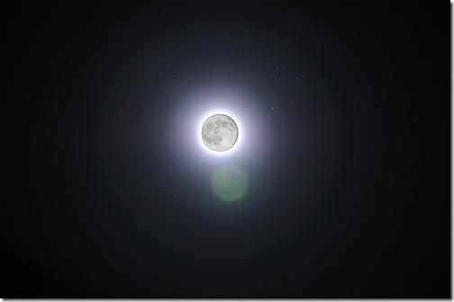 Мушля самітниці - Сонячне затемнення